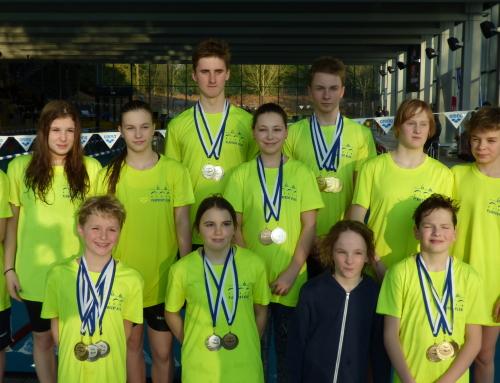 Úspěchy píseckých plavců na mezinárodním meetingu ve Wetzlaru